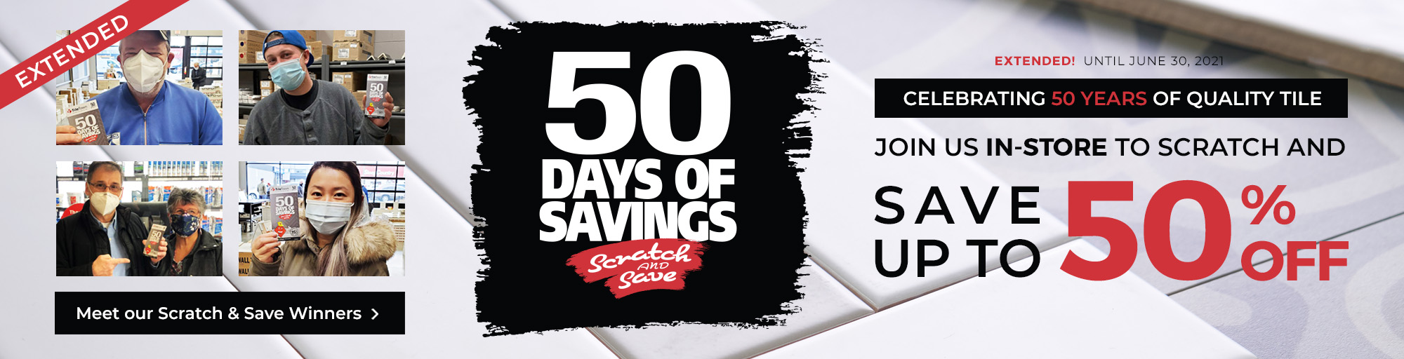 50 Days of Savings